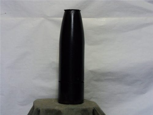 5″ x 62 (RAP) Inert rocket assisted projectile (base unscrews to attach to rocket motor) no fuse