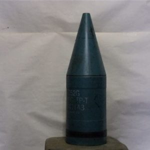 152 MM Inert blue Sheridan light tank projectile (no fuse required)