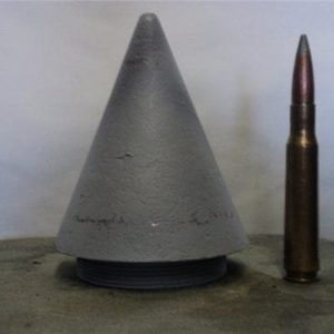 16 inch inert nose fuse (fits most but not all projectiles. Some may require adapter ring.